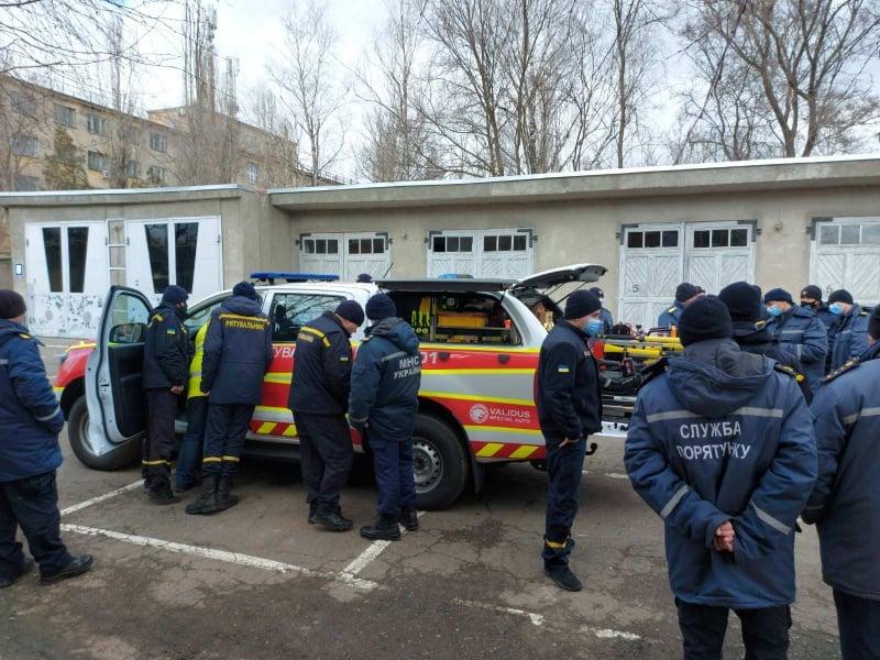 Продолжаются учения по применению инновационного аварийно-спасательного оборудования Weber Rescue (м. Одеса)