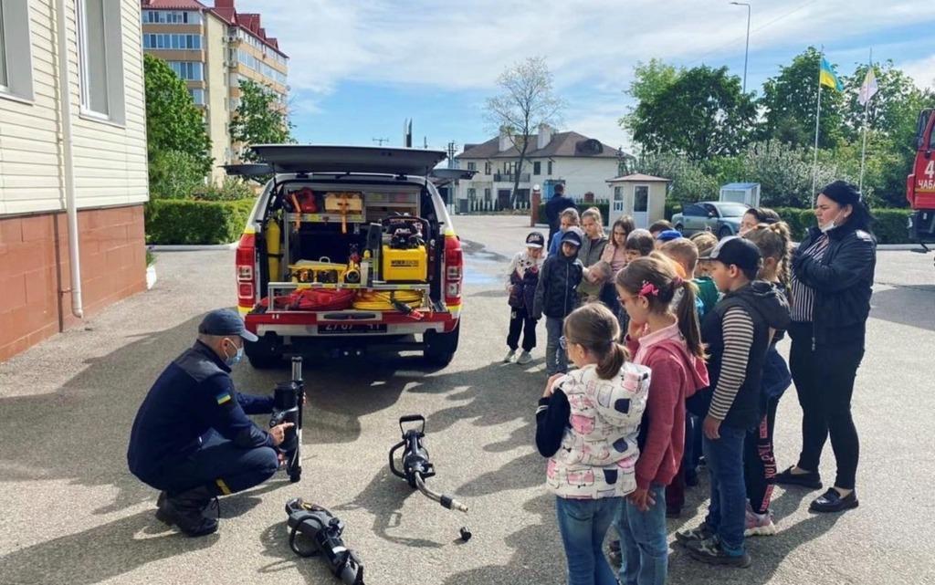 С Днем защиты детей от Weber Rescue Ukraine!